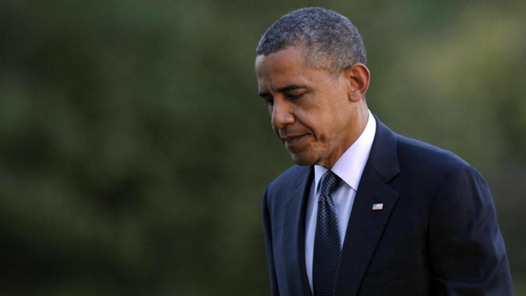 BEKYMRET: USAs president Barack Obama. Foto: AP