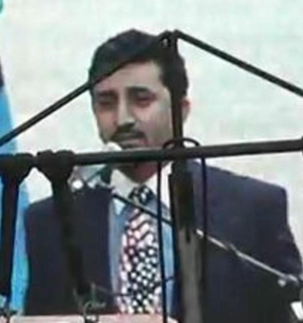 STØTTESPILLEREN: Joseph Nasralla Abdulmasih. Foto: Skjermdump fra YouTube