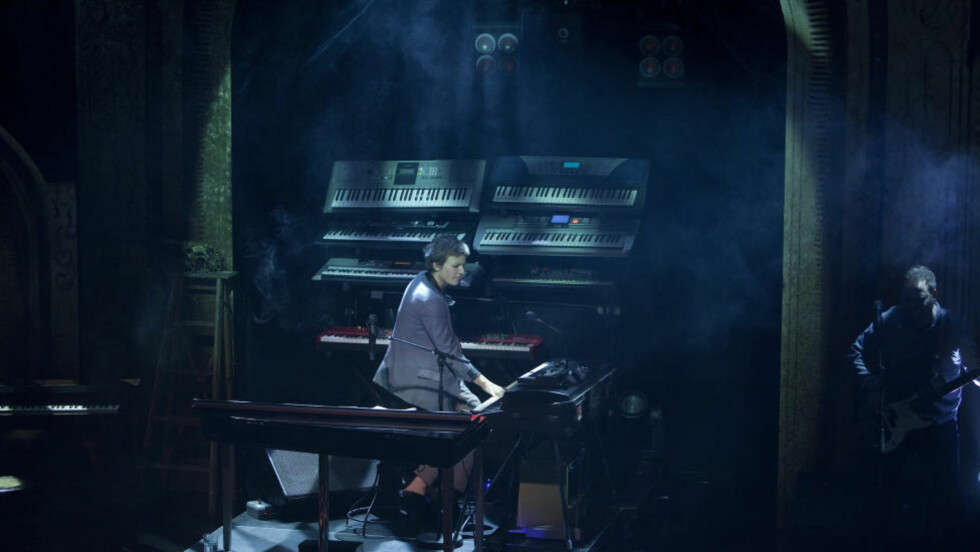 BEGEISTRER: Ingrid Bjørnovs «2012-ouverturen» er et show å begeistres av. Foto: Backstage