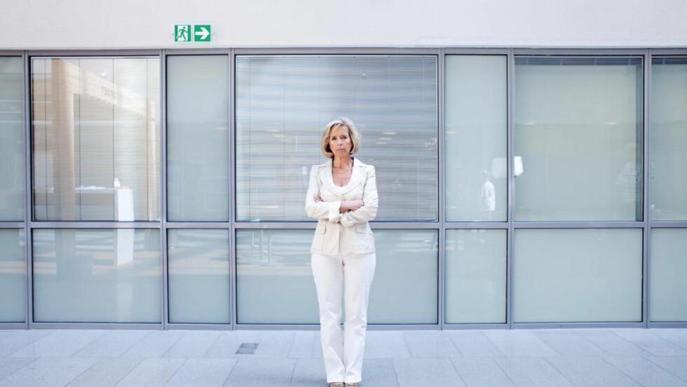 I STORM OG STILLE: Anne-Grete Strøm-Erichsen.  Foto: Jo Straube / Dagbladet