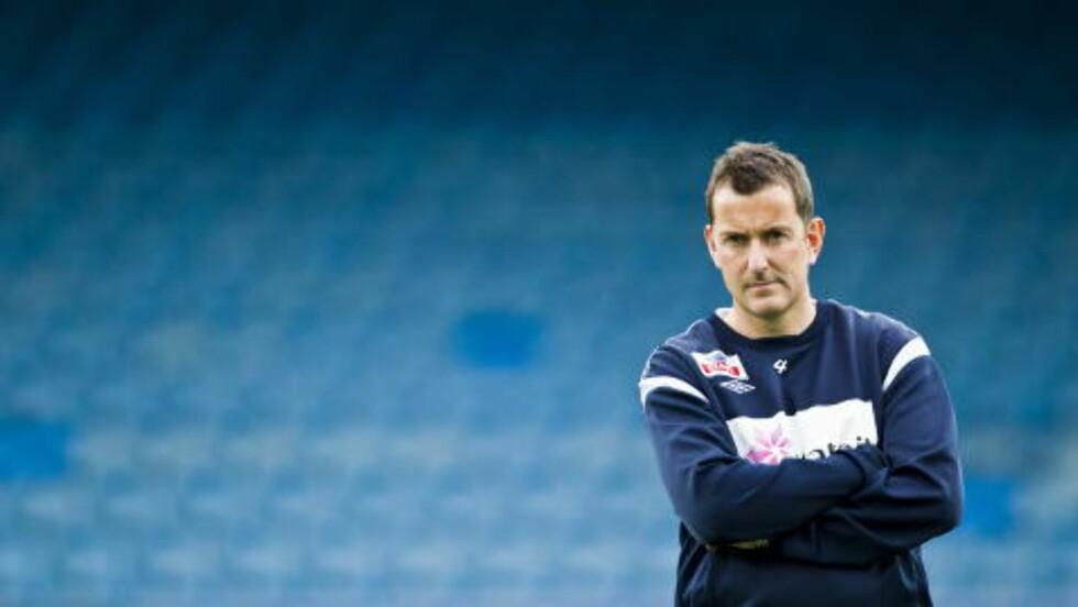 - VELDIG MERKELIG: Per Joar Hansen stusser over misnøyen mot Håkan Ericson, etter svenskenes meget sterke kvalifisering.  Foto: Vegard Grøtt / NTB scanpix