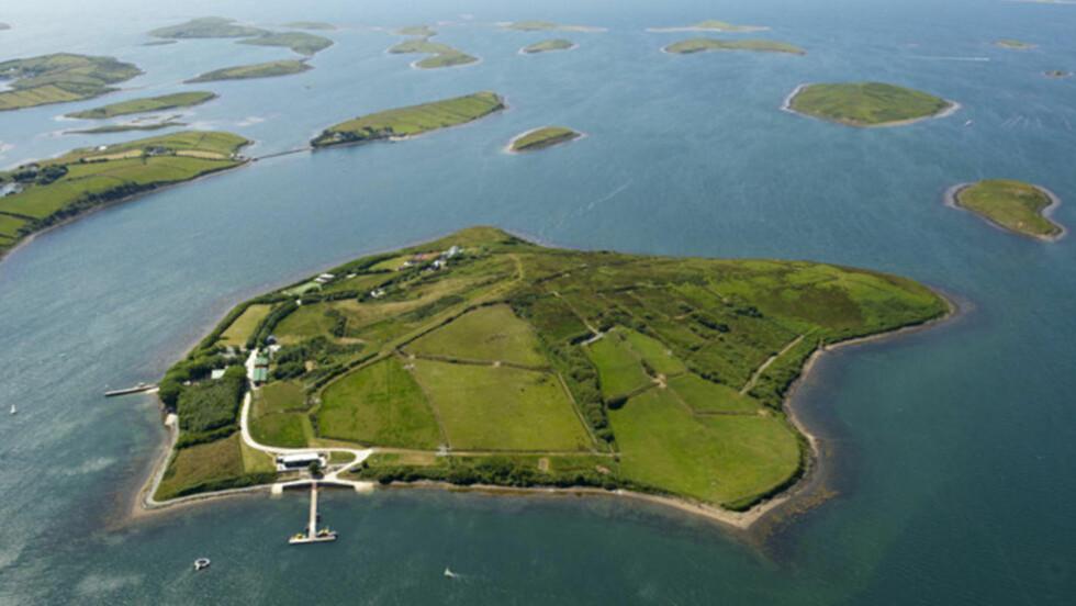 TIL SALGS: Har du mye penger til overs og kunne tenkt deg en egen øy har du nå en gyllen mulighet. Foto: Wikimedia Commons