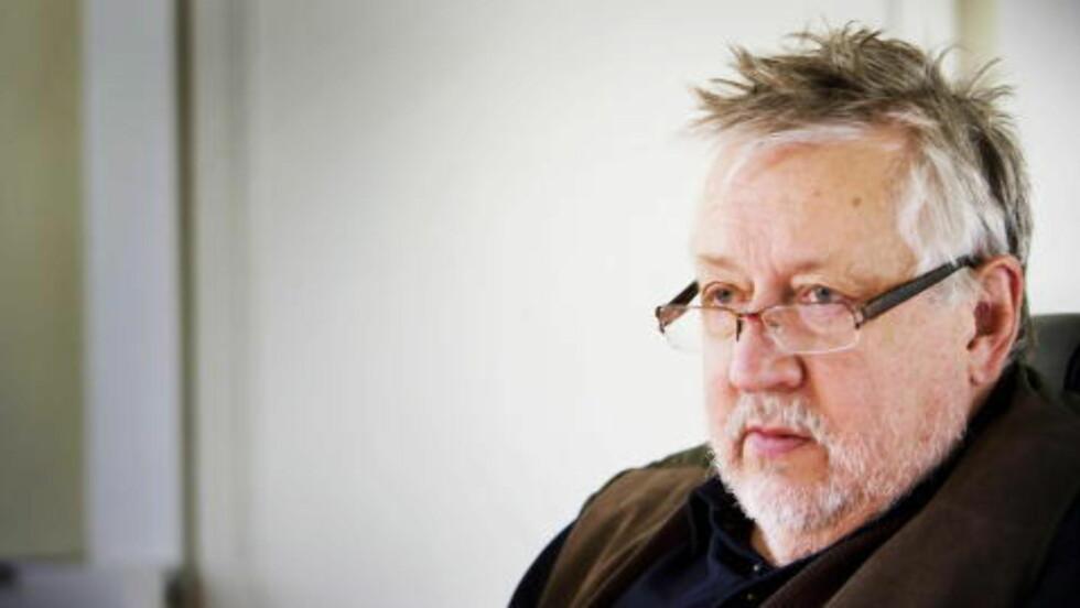 TVILENDE:  Politiprofessor Leif GW Persson er skeptisk til opplysningene om at Olaf Palme ringte og ba om livvakter.  Foto: Jonas Lemberg / Dagbladet