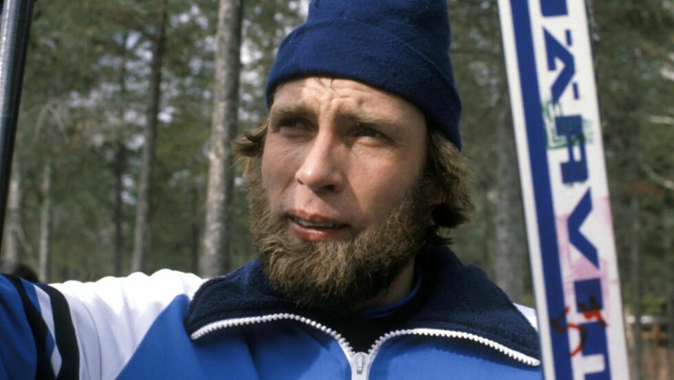 STÅR PÅ AT HAN VAR REIN: En finsk vektløfter forteller at Juha Mieto fortalte hvor store doser med steroider han satte på 70-tallet. Skiløperen nekter for at denne samtalen fant sted. Foto: NTB / EPU / SCANPIX