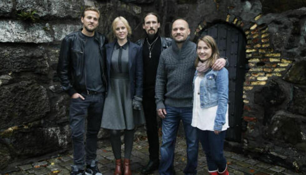 <strong>«FLUKT»:</strong> Ingrid Bolsø Berdal deler rolleliste med blant andre Tobias Santelmann, Isabel Andreasen, Kristian Espedal og Bjørn Moen i sin seneste film. Foto: Steinar Buholm / Dagbladet.