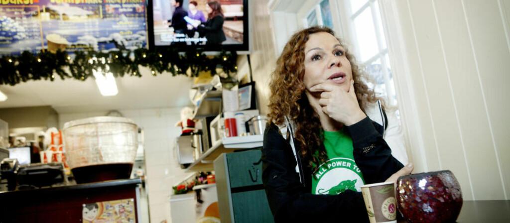 SER IKKE: «Problemet til Jaquesson er godt forankret i hennes sviktende evne til å se menneskene bak alle kiloene,» skriver artikkelforfatteren om Kari Jaquessons (bildet) kritikk av leder av landsforeningen for overvektige, Jørgen Foss.