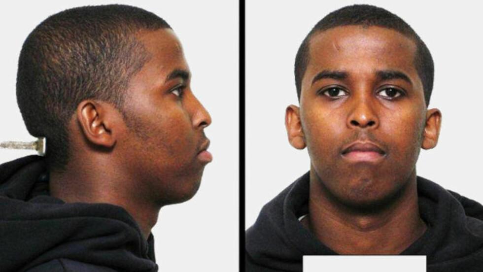 ETTERLYST FOR DRAPSFORSØK: Ahmed Hassan Jama er etterlyst for drapsforsøk etter å ha skutt en norskpakistansk 27-åring flere ganger på Ellingsrud 30. juli. Foto: Politiet