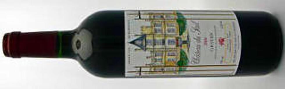 CH. DU SEUIL 2006: Rustikk rødvin fra Graves i Bordeaux. God til lammecarré med rødvinssaus.