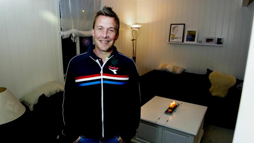 GODE NYHETER: Raufoss-trener Espen Haug kunne i kveld informere spillerne om at Pål Strand er i stadig framgang. Foto: John T. Pedersen