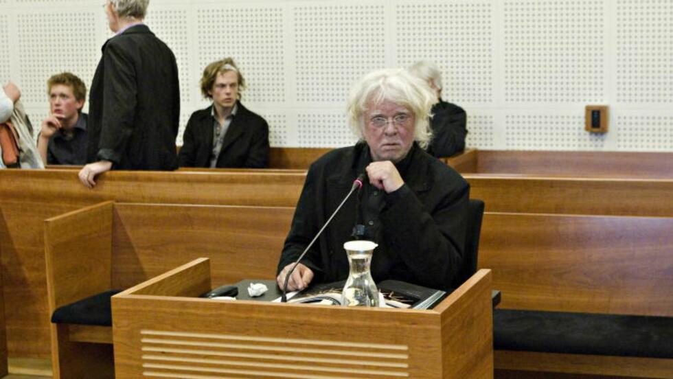FRUSTRERT: I Borgarting lagmannsrett, uttrykte Nerdrum høyt og tydelig sin frustrasjon over å ikke bli trodd. FOTO: TORBJØRN BERG / DAGBLADET