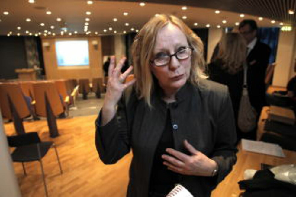 SKEPTISK: Tidligere direktør i Kreftregisteret, Frøydis Langmark, sier hun er reservert i forhold til HPV-vaksineringen av 12 år gamle jenter. Bildet er tatt i en tidligere anledning. Foto: Geir Bølstad / Dagbladet