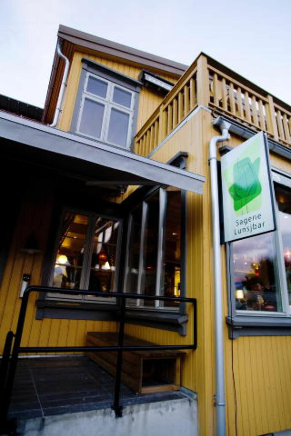 HJØRNESTEINSBEDRIFT: Sagene Lunsjbar har lange tradisjoner på Sagene. Foto: Adrian Øhrn Johansen.
