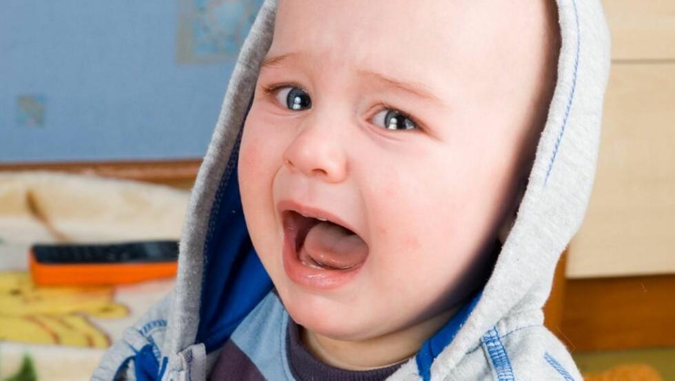 SLITSOMT: Sutrete barn er slitsomt for hele familien. Her får du gode råd av fagpersoner. FOTO: Colourbox.com