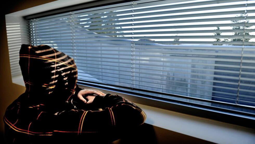SISTE UTSIKT MOT NORGE:  Fengselsmurer og granskog blir siste bildet av Norge for alle fangene ved Konsgvinger fengsel på Vardåsen fra 2013. Her fra høysikkerhetsavdelingen i fengselet. FOTO: JOHN T. PEDERSEN / DAGBLADET.