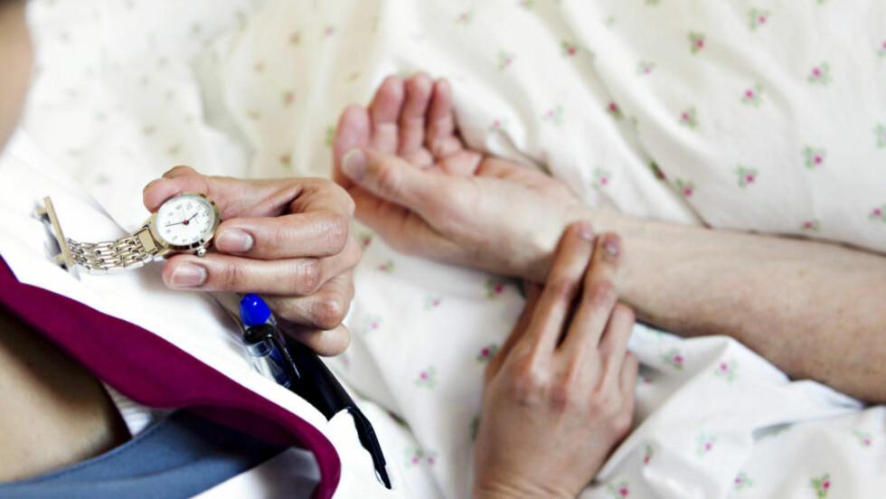 VARSLA: Tillitsvalde ved A-hus har, saman med pasientar og pårørande, fleire gonger varsla om alvorlege problem. Illustrasjonsfoto: Heiko Junge / NTB Scanpix