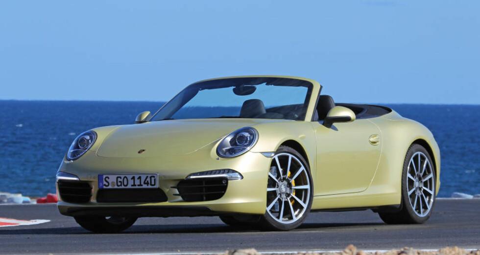 STEM FRAM ÅRETS BIL: Nye Porsche 911 er en av de 31 kandidatene til Årets Bil 2013. Bruk stemmeboksen nederst og stem fram din favoritt. Alle foto: Petter Handeland, Vi Menn Bil, Egil Nordlien, HM Foto og produsenter