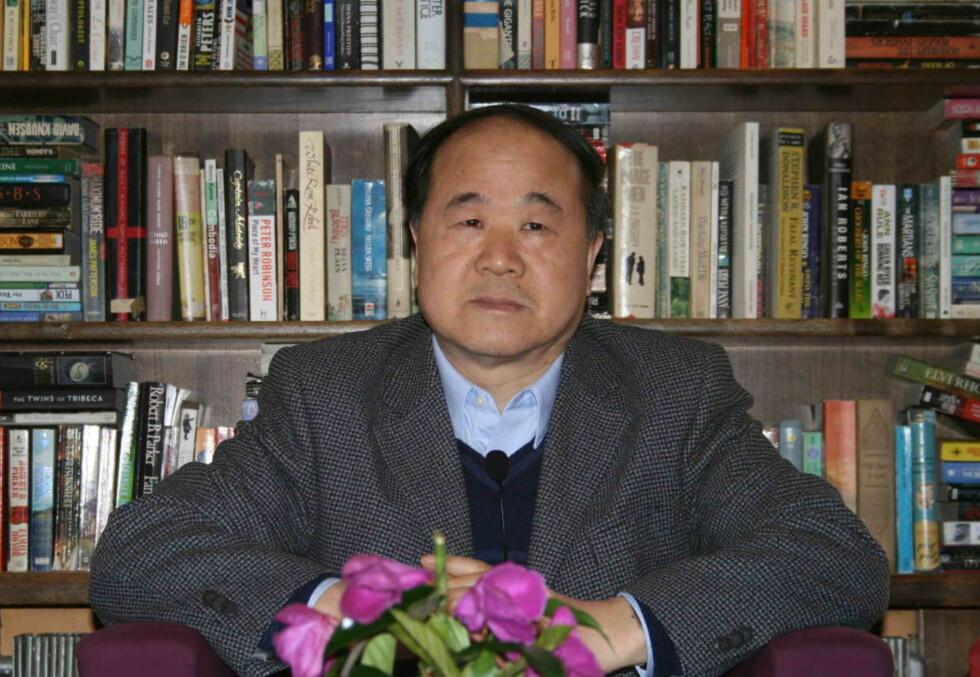 KINESISK NOBELPRISVINNER: Dagbladet møtte Mo Yan i Beijing i 2009. Foto: Inger Bentzrud