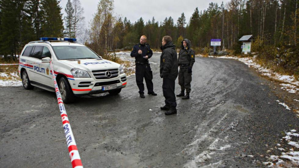 FUNNET: Kvinnen ble funnet drept i en hytte her ved Grønkjær skisenter mellom Bø og Notodden i Telemark. Foto: Torbjørn Berg / Dagbladet