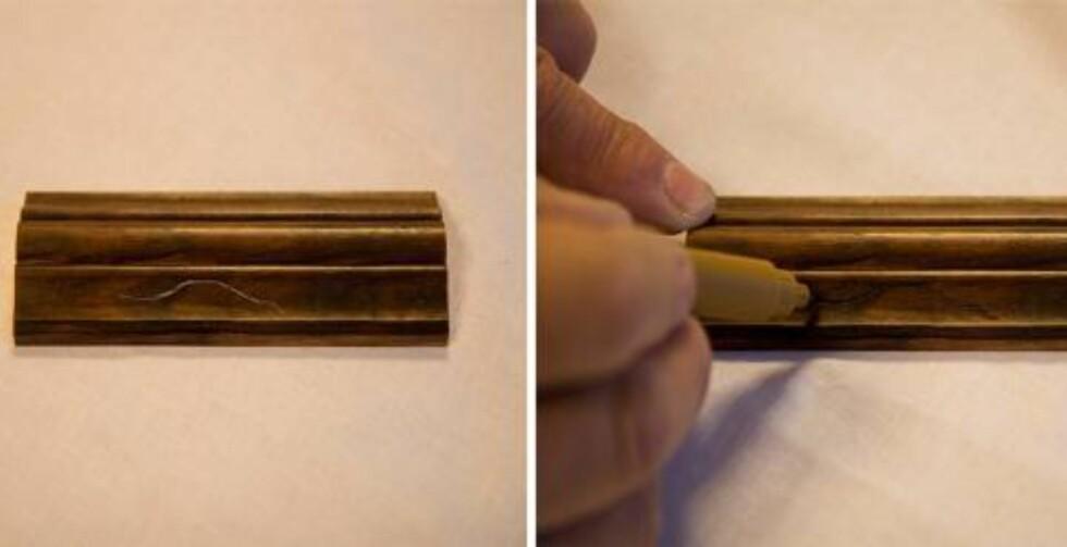 BEISPENNER: Du kan også få kjøpt ulike beispenner for å dekke de minste ripene.   Foto: Alanor