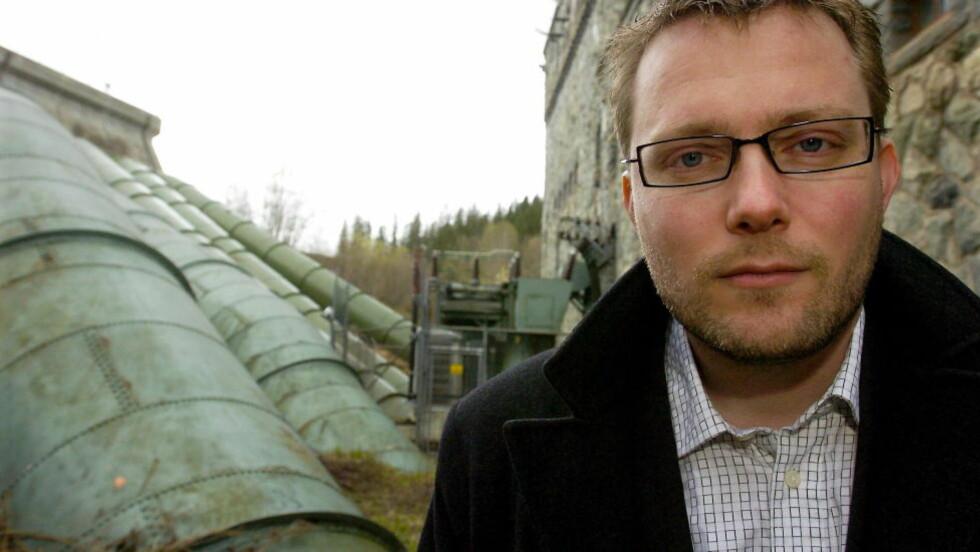 GÅR AV: Rune Olsø går av som administrerende direktør i Entra Eiendom, for å skape ro for selskapet. Han trer av med umiddelbar virkning. Foto: Ned Alley / Scanpix