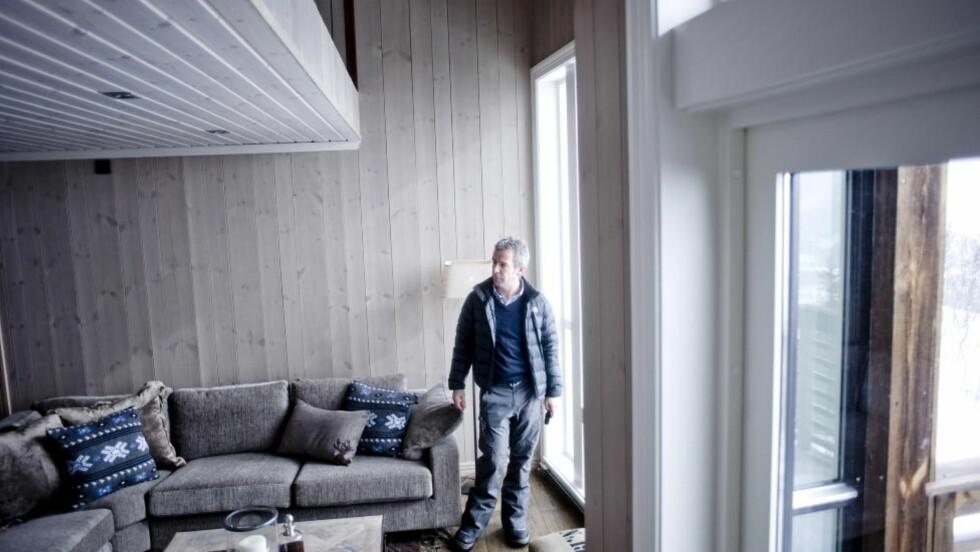 Hyttemegler: Christian Haatuft kan skilte med en inntakt på 13 millioner. Bildet er fra en hytte geilo.  Foto: Thomas Rasmus Skaug  / Dagbladet