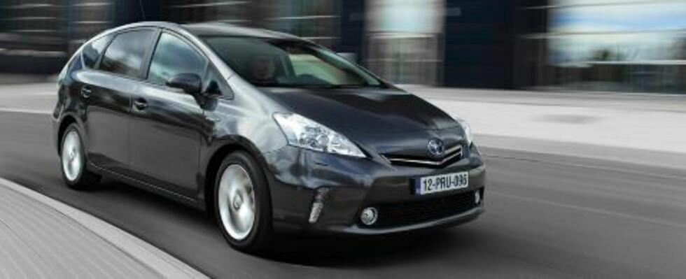 IKKE TESTET Toyota Prius+