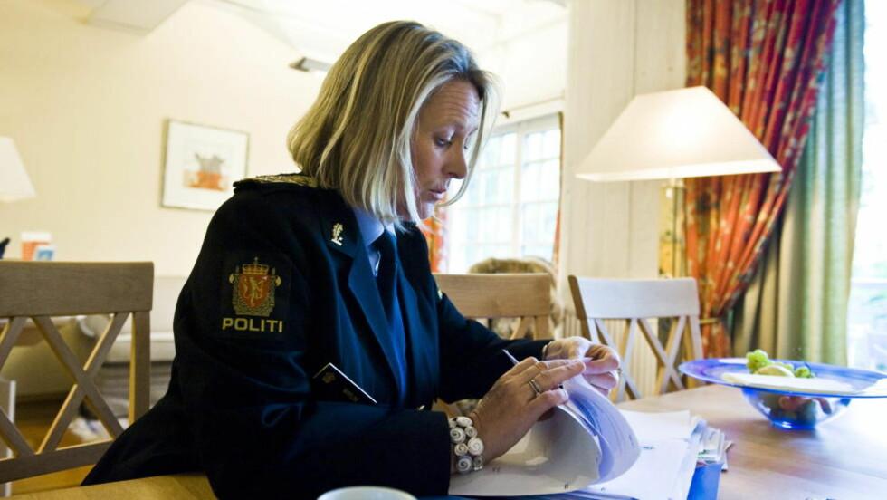 - STEMMER IKKE: Politimester Ingrid Wirum i Politiets utlendingsenhet blir beskyldt for å ville redigere sitt eget avhør, noe hun benekter er tilfelle.  Foto: Håkon Eikesdal / Dagbladet