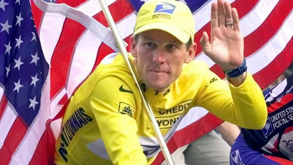 SYKLET MED STEFFEN:Lance Armstrong vant Tour de France sju ganger, men ble i går fratatt titlene. Steffen Kjærgaard syklet med Armstrong i US Postal. Foto: AP Photo/Laurent Rebours