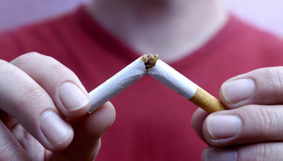 RØYKER MINDRE: Norsk ungdom har røykerekord - i positiv forstand. Foto: AGE / NTB Scanpix