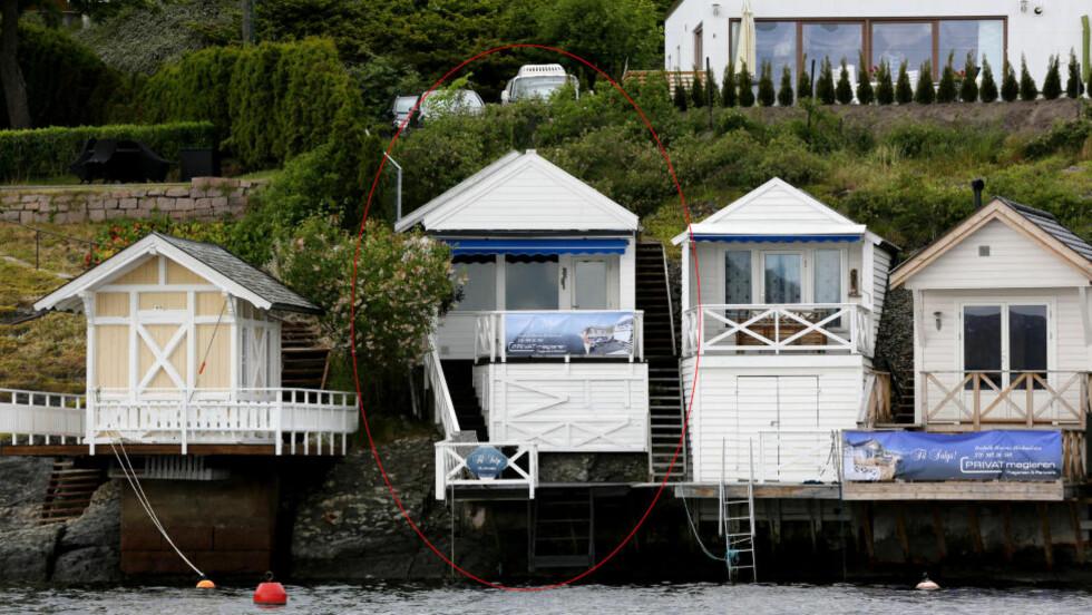 HEFTIG KVADRATMETERPRIS: Dette 15 kvadratmeter store/lille badehuset på Snarøya er solgt for 2,8 millioner. Foto: Jacques Hvistendahl / Dagbladet