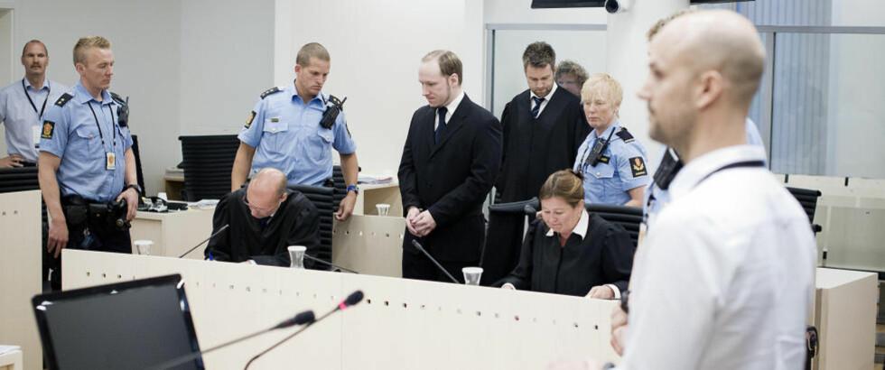 - TEGNESERIEFIGUR: - Breivik forsto at han framsto mer som en tegneseriefigur enn den ridderfiguren han selv ønsket å framstå som, fortalte psykologspesialist ved Bærum sykehus, Eirik Johannesen, som er blant dem som har hatt tilsyn med Breivik i Ila fengsel. Foto: BJØRN LANGSEM/DAGBLADET