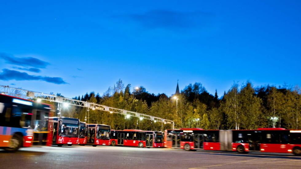 KORRUPSJON: Til sammen 13 personer er siktet i korrupsjonssaken som er tilknyttet Unibuss, som driver rutebussvirksomhet i Oslo.  Foto: Krister Sørbø / SCANPIX