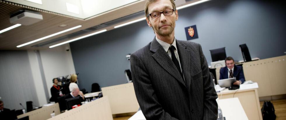 - INGEN UENIGHET: - Det var ingen uenighet da vi godkjente den første rapporten, sa leder av Den rettsmedisinske kommisjon, Tarjei Rygnestad, da han vitnet under rettsaken mot Anders Behring Breivik. Foto: TOMM W. CHRISTIANSEN/DAGBLADET