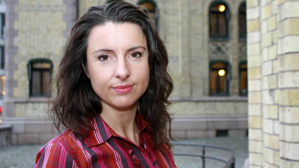 VIL FORBY RITUELL OMSKJÆRING: Justispolitisk talskvinne i Senterpartiet, Jenny Klinge. Foto: Senterpartiet