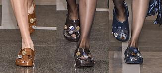 Stjernedesigner sendte modellene ned catwalken i... Crocs?