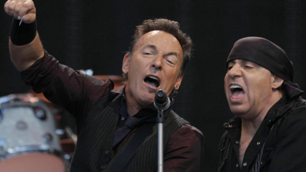 TRENGS IKKE: Vi trenger virkelig ikke Bruce Springsteen for å føle at 22. juli er en viktig dag å markere.  Foto: Reuters/NTB Scanpix