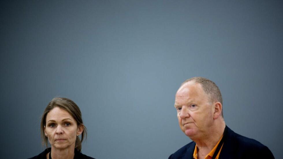FORSVARER PSYKOSE: Rettspsykiaterne Synne Sørheim og Torgeir Husby forklarte i dag hvordan de kom fram til konklusjonen om at Breivik var psykotisk 22. juli 2011.  Foto: Tomm W. Christiansen/Dagbladet