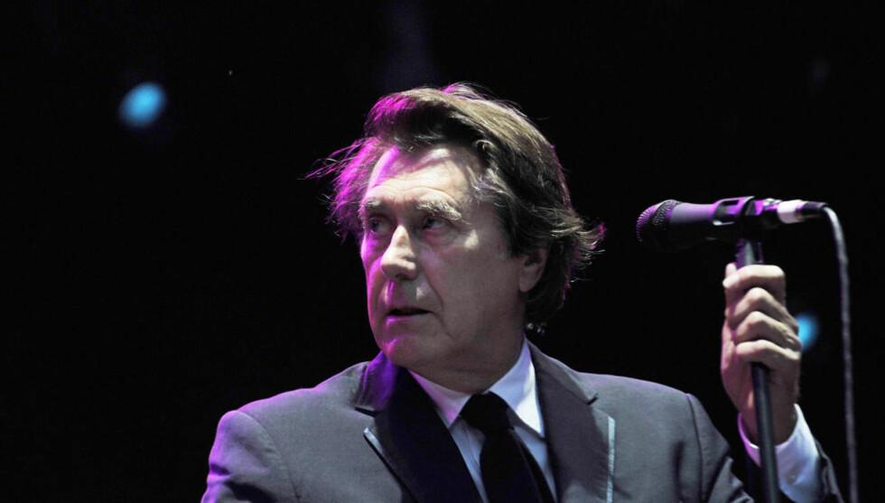 MUSIKALSK DELIKATESSE: Bryan Ferry ga en sterk konsert på åpningsdagen av Norwegian Wood-festivalen i Oslo. Den godt voksne artisten har fremdeles stil og stemme. Foto: Hans Arne Vedlog