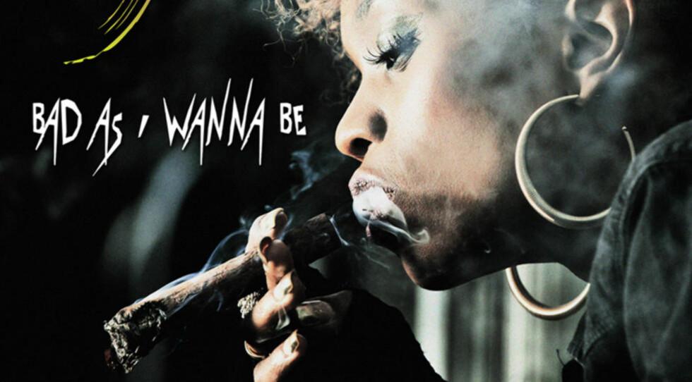 VANLIG TOBAKK: Stella Mwangi på omslaget av sin nye singel «Bad As I Wanna Be», som blir lansert 29. juni.