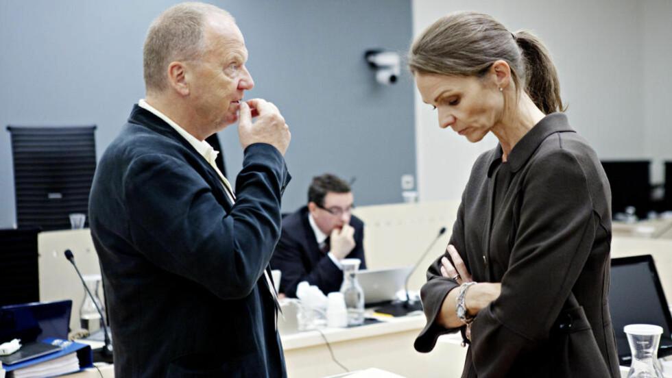 SVARTE FOR SEG: Rettspsykiaterne Torgeir Husby og Synne Sørheim. Foto: Nina Hansen/Dagbladet