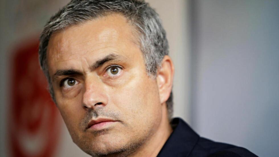 HAR TROEN PÅ SPANIA: José Mourinho mener at Spania er favoritter til tross for uavgjort mot Italia i åpningskampen. Foto: REUTERS/Tim Chong/NTB scanpix