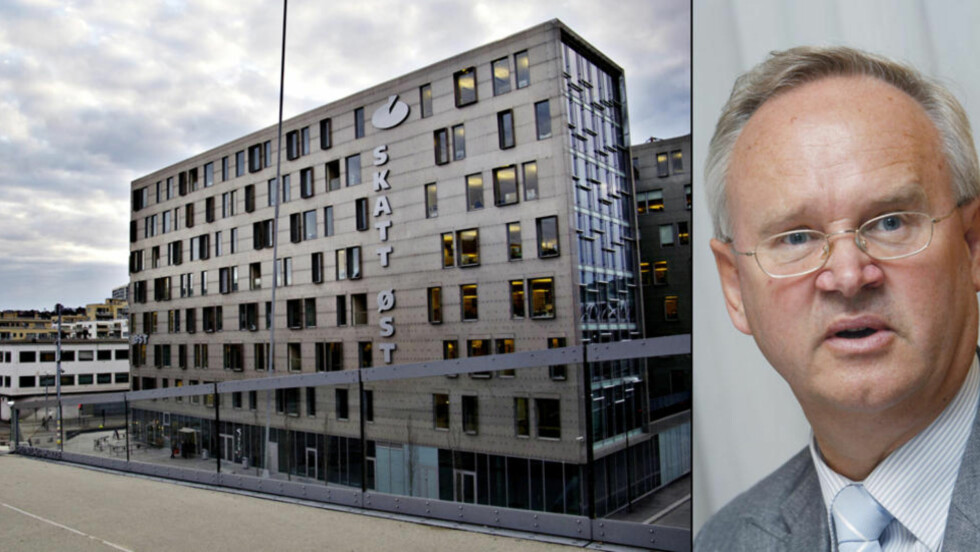 STØRSTE SAK: Skattekrim-sjef Jan-Egil Kristiansen (t.h) i Skatt Øst mener investoren Roar Syvertsen har unndratt 180 millioner fra beskatning. Foto: Torbjørn Grønning/Dagbladet, Morten Holm/NTB Scanpix