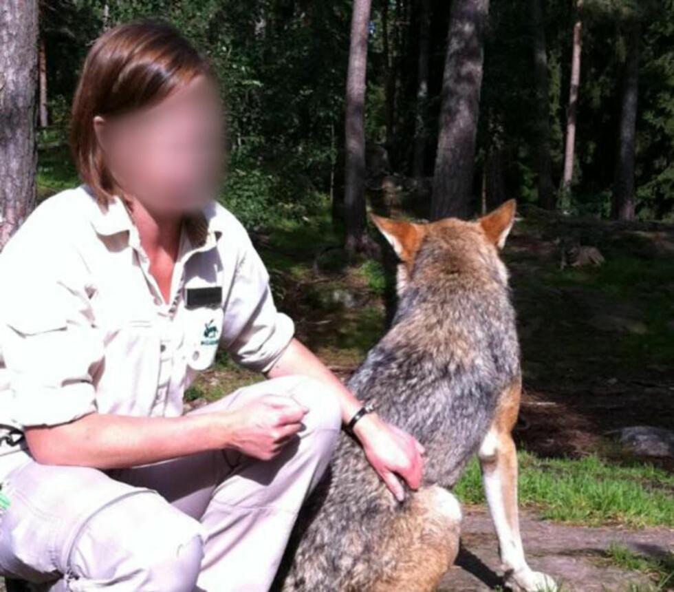 - ROPTE IKKE: Dyreparken i Kolmården får kraftig kritikk etter at en av dyrepasserne (avbildet) ble drept av ulv. Foto: Privat