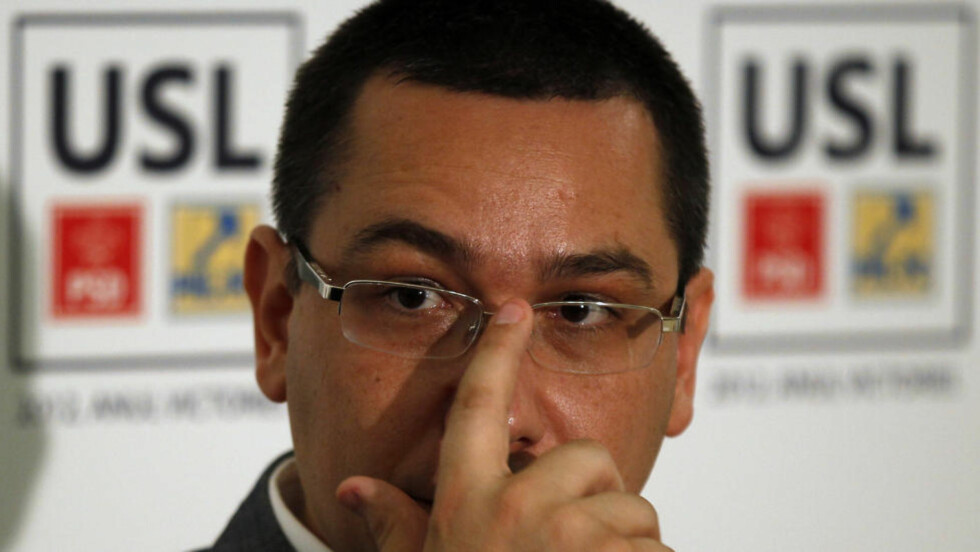 PLAGIAT: Romanias ferske statsminister Victor Ponta anklages for å ha plagiert store deler av sin doktorgrad fra 2003. Foto: BOGDAD CHRISTEL / REUTERS / NTB SCANPIX