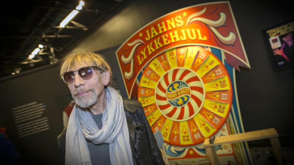 STOLT: I kveld åpner Jahn Teigen sin egen utstilling, «Teigens tivoli», på Rockheim i Trondheim. Til Dagbladet sier artisten at han er både takknemlig og ydmyk. Foto: Ole Morten Melgård / Dagbladet