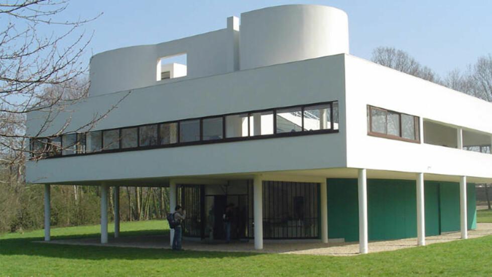 EN BO-MASKIN: Le Corbusier mente at hus skulle være så enkle og fuksjonelle som mulig. Foto: Thinkstock