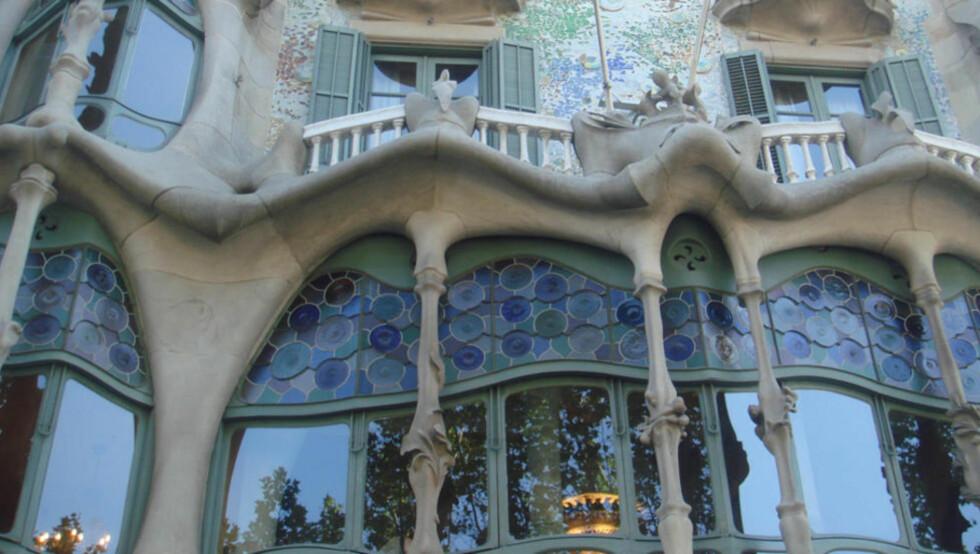UNIK DESIGN: Har man vært i Barcelona, vil man minnes Gaudis unike bygninger. Foto: Thinkstock