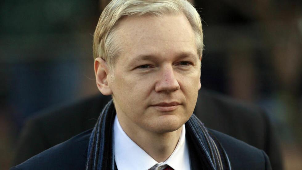 <strong>HEMMELIGHETSFULL:</strong> Wikileaks-grunnlegger Julian Assange søkte politisk asyl ved ecuadors ambassade fordi han fryktet tortur og dødsstraff i USA. Foto: Reuters/Andrew Winning/Scanpix