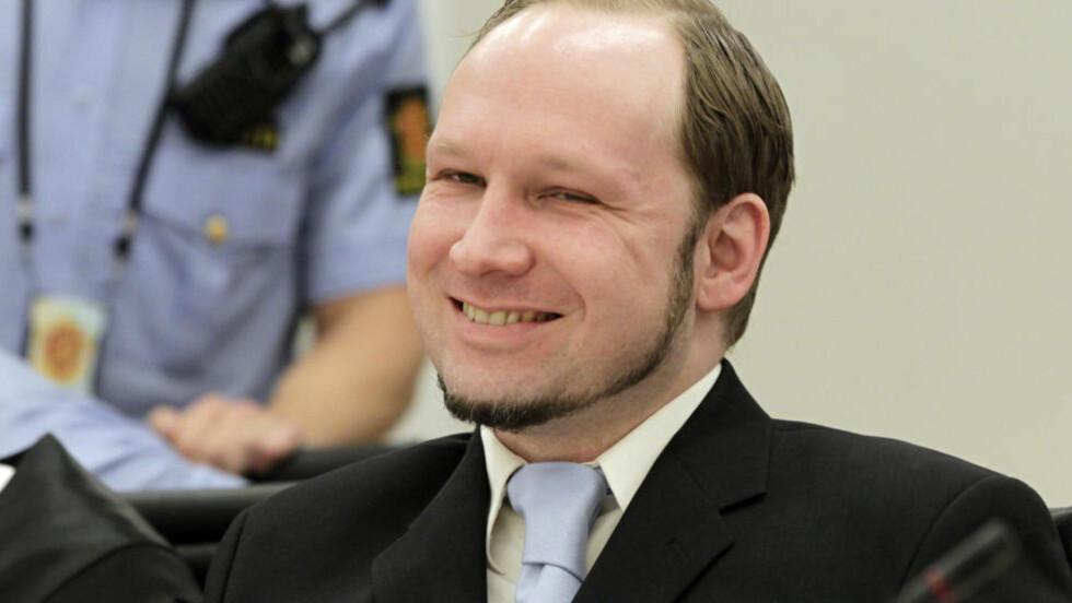 RADBREKKES: Anders Behring Breiviks påståtte terrornettverk Knights Templar fikk det glatte lag i retten i dag. Foto: Berit Roald / AP / NTB Scanpix