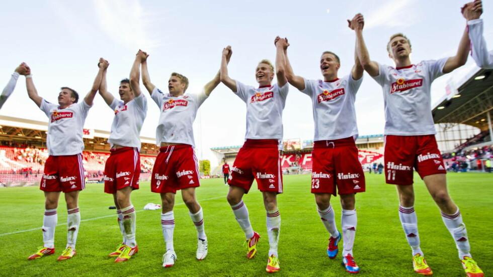 FERDIG MED SAKEN: Ved å vedta foretaksstraffene sier både klubb og AS i Fredrikstad seg ferdig med den såkalte «Piiroja-saken».Foto: Vegard Grøtt / NTB scanpix